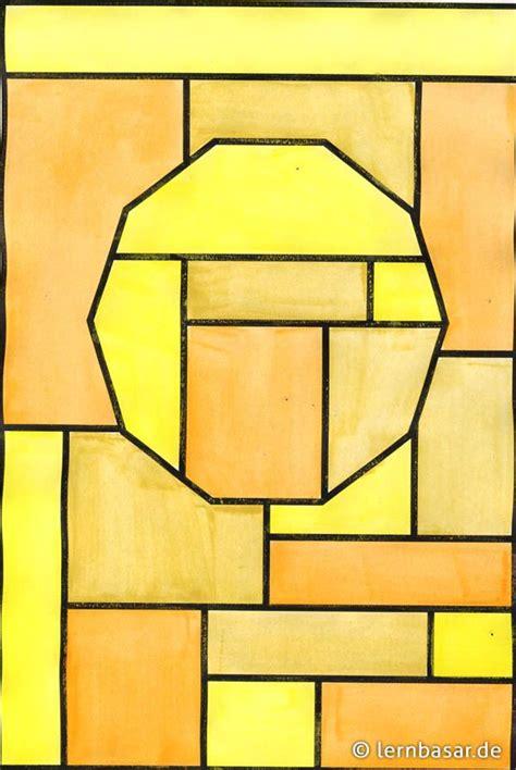 Bild Geometrische Formen by Geometrische Formen Ton In Ton Beispiel Kunst