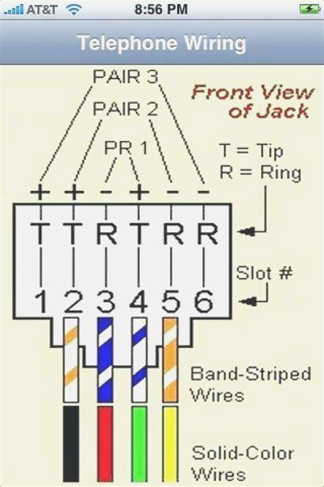 Phone Cable Wiring Diagram by Rj11 To Rj45 Wiring Diagram Dolgular Rj45 In 2019