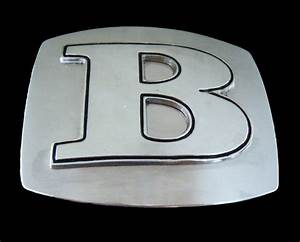 b initial letters names monogram unisex jewelry boy girl With letter belt buckles wholesale