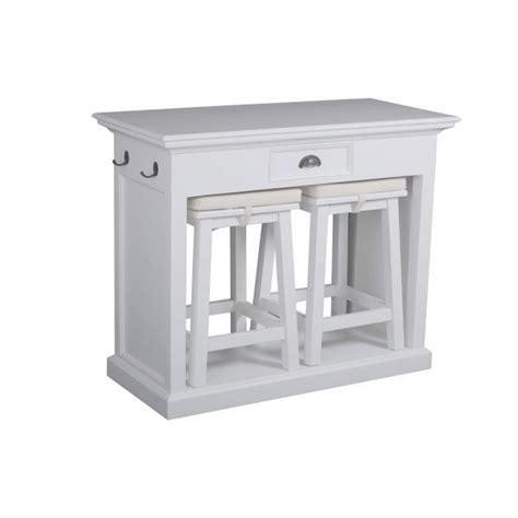 tabouret haut cuisine table haute avec tabouret pour cuisine dootdadoo com