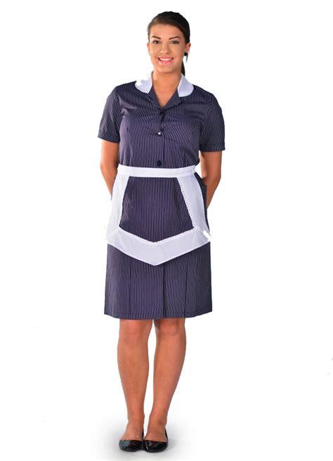 travail femme de chambre hotel blouse femme de chambre à manches courtes rayure carlton