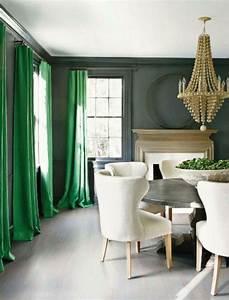 Salon Vert De Gris : les rideaux occultants les plus belles variantes en photos ~ Melissatoandfro.com Idées de Décoration