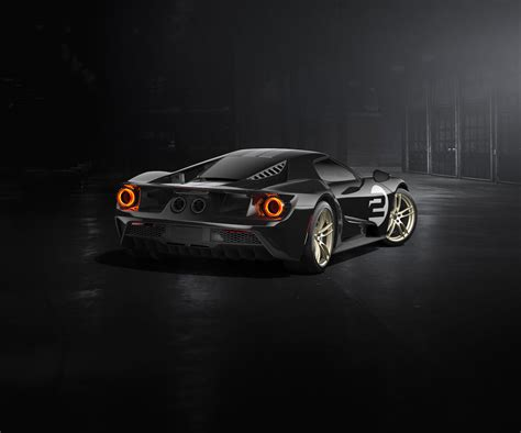 Ford Gt 66 Heritage Edition A Stunning Black Lady Is