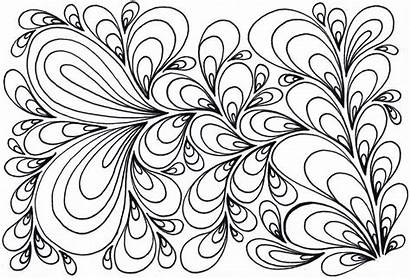 Coloring Pages Swirl Psychedelic Swirls Printable Creature