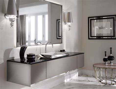 the luxury look of high end bathroom vanities - Designer Bathroom Tile