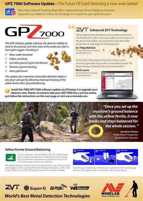gpz 7000 software update official release information