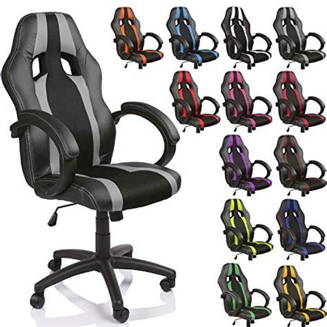 siege de bureau sport tresko 174 chaise fauteuil si 232 ge de bureau racing sport 233 ergonomique inclinable accoudoirs