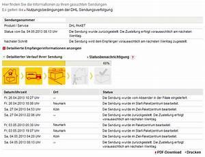 Dhl Paketverfolgung Ohne Nummer : dhl sendungsverfolgung kann mir das einer erkl ren computerbase forum ~ Markanthonyermac.com Haus und Dekorationen