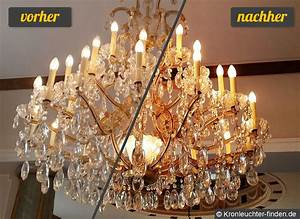 Kronleuchter Gold Günstig : wie reinigt man kronleuchter kronleuchter und l ster finden ~ Markanthonyermac.com Haus und Dekorationen