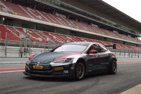 Tesla Racing Series by Tesla Model S Gets World S Electric Circuit Race