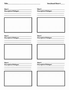 download free storyboard template tutorials indie film With film storyboard template word