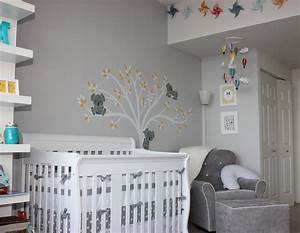 baby quotmquot modern gray nursery project nursery With couleur gris beige peinture 10 chambre bebe bleue aqua