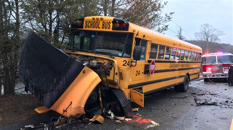 Students Sent To Hospital After Canterbury School Bus