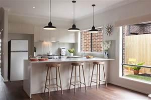 Barhocker Weiß Holz : k che in u form planen 50 ideen und tipps ~ Orissabook.com Haus und Dekorationen