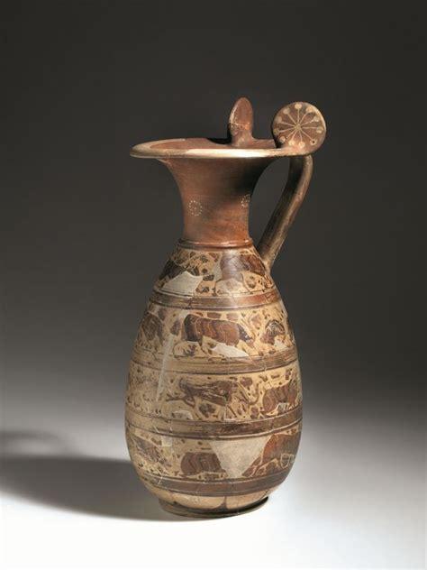 vasi etruschi prezzi grande olpe a rotelle etrusco corinzia asta reperti