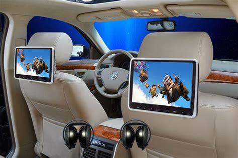 2x10.1 Inch Touch Button Hdmi Input Diy Install Headrest