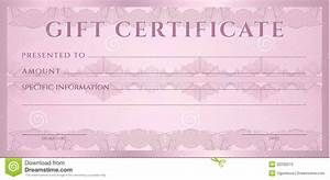 gift certificate voucher coupon template stock photos With fake gift certificate template