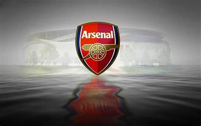 Arsenal Sport Wallpapers Water Reflection 3d Fc