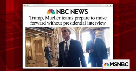 Mueller Interview With Trump Less Likely After Cohen Raid