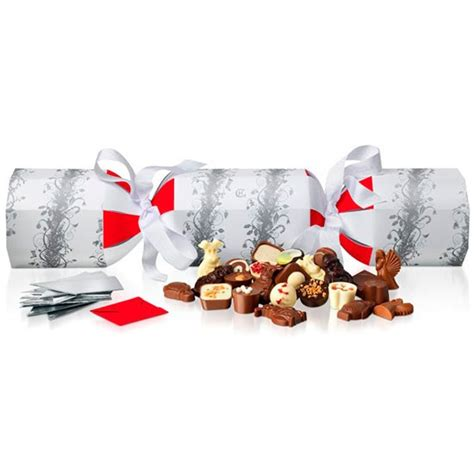 rather large christmas cracker from hotel chocolat
