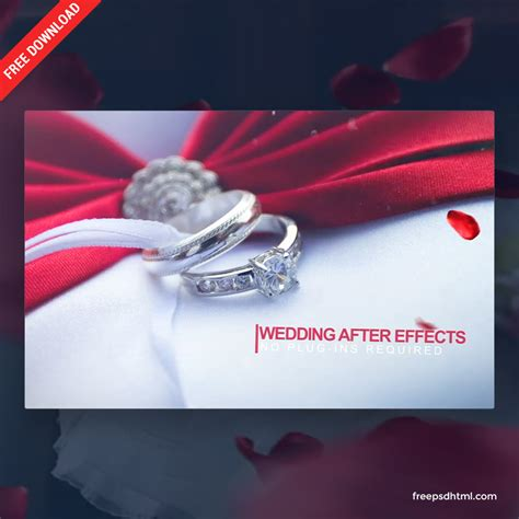 freepsdhtml wedding intro   effects templates