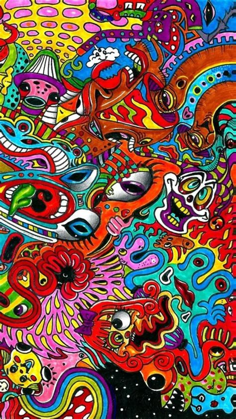 iphone  background  trippy psychedelic