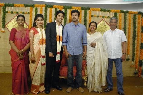 Actor Vijay At Marriage Function With His Family Images