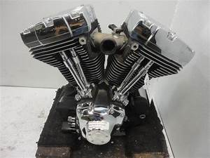 02 Harley Davidson Softail Twin Cam B 88 Ci 1450 Cc Engine