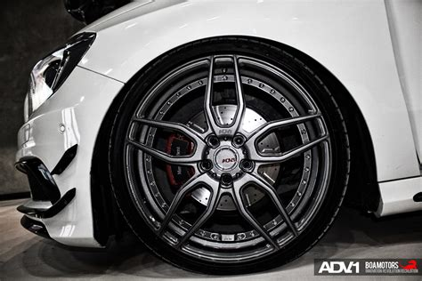 Mercedes Benz A200 Adv005 Mv2 Sl Gloss Gunmetal Wheels