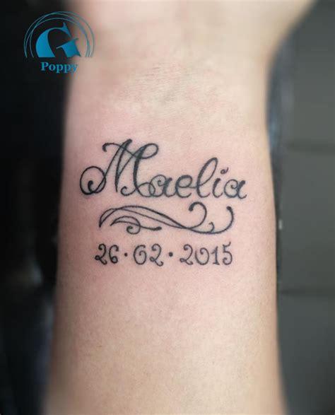 tatouage prénom poignet tatouage poignet graphicaderme