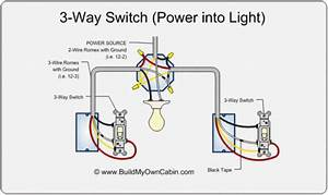 Install 3 Way Light Switch Diagram