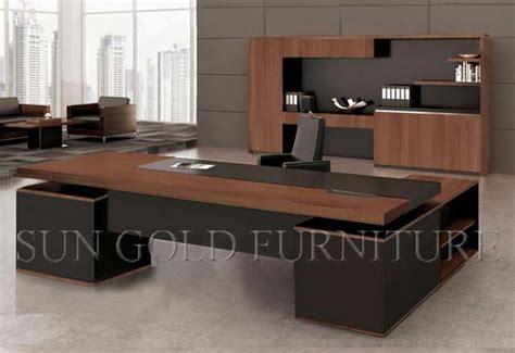 bureau de luxe bureau exécutif de bureau de luxe haut de gamme sz od334