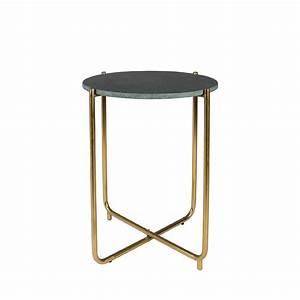Table D Appoint : table d 39 appoint marbre et laiton timpa by drawer ~ Teatrodelosmanantiales.com Idées de Décoration