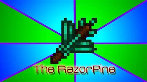 terraria razor magic weapon pine