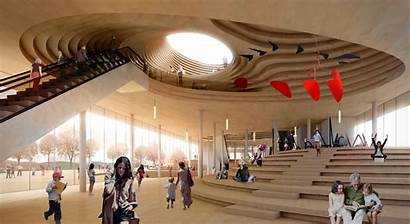 Architecture Library Helsinki Architects Central Jaja Beta