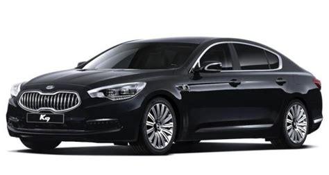 Kia K9 Luxury Sedan Revealed