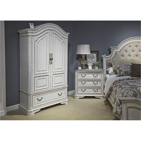 Bedroom Furniture Sets Armoire by 244 Br46 Liberty Furniture Magnolia Manor Bedroom Armoire