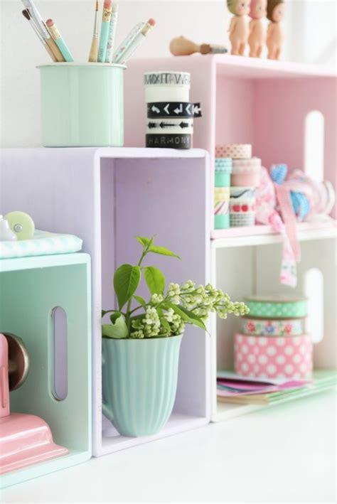chambre pastel idées déco pour une chambre ado fille design et moderne