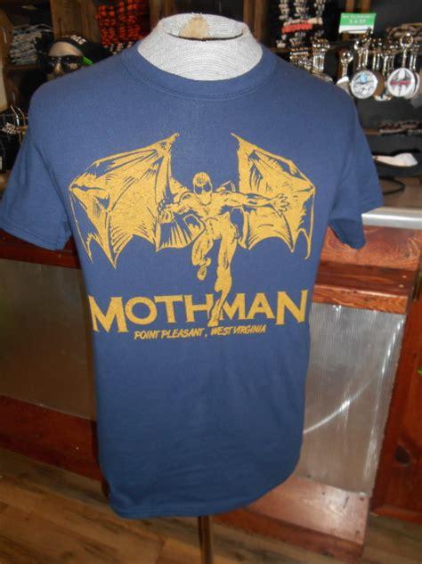 mothman point pleasant wv navy shirt