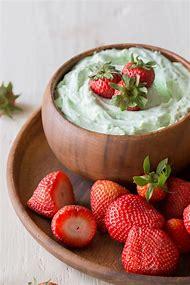 Creamy Pistachio Fruit Dip