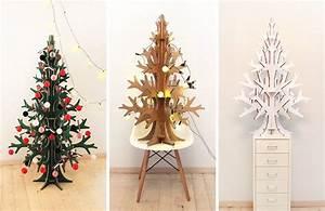 Sapin Noel Carton : sapin en bois ou carton et autres id es colo originales essayer ce no l ~ Voncanada.com Idées de Décoration