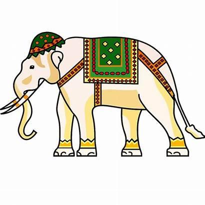 Elephant Clipart Airavata Clip Thai Cartoon India