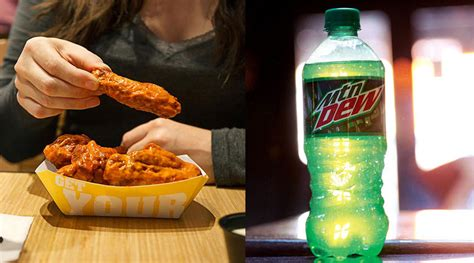 mountain dew chicken wing sauce coming  buffalo wild