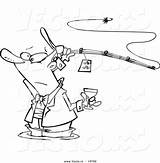 Fishing Man Coloring Pages Guy Cartoon Template Vector Getcolorings Printable sketch template