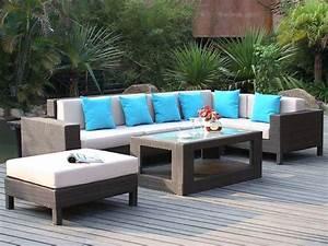 Salons De Jardins : salon de jardin partagez des moments ensoleill s le blog de vente ~ Teatrodelosmanantiales.com Idées de Décoration