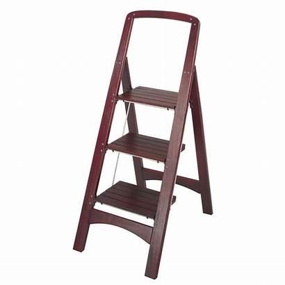 Ladder Step Folding Wood Cosco Storage