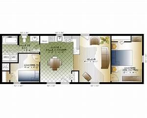 Plan Interieur Maison : plan maison mobile ~ Melissatoandfro.com Idées de Décoration