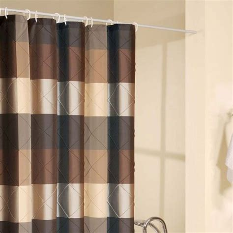 royal court brown shower curtain s linens 24 99