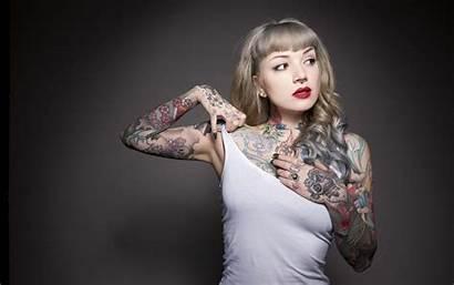 Tattoo Tattoos Woman Tattooed Wallpapers Nina Kate