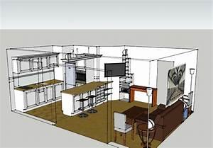 amenagement salon salle a manger 30m2 11 une cuisine With amenagement salon salle a manger 30m2